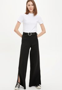 DeFacto - Trousers - black - 1