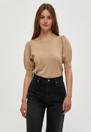 LIVA - T-shirt print - sand