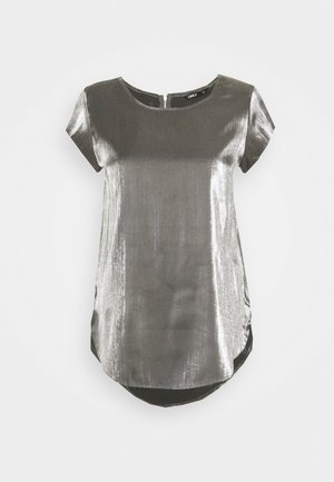 ONLVIC SHIMMER - Blouse - silver colour