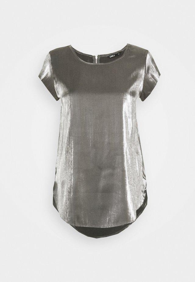 ONLVIC SHIMMER - Bluzka - silver colour