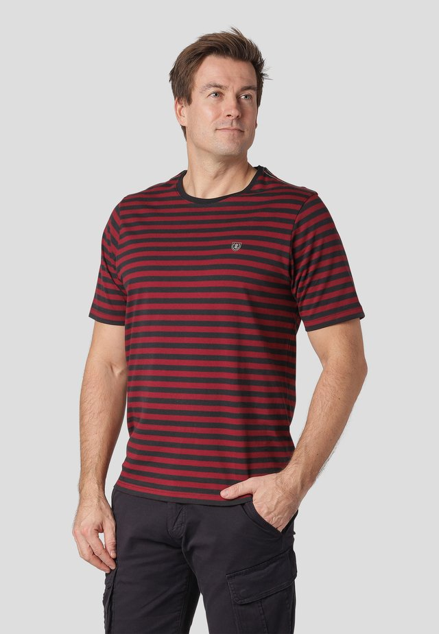 NORTH - Print T-shirt - biking red