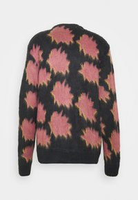 Obey Clothing - CRACKLE  - Cardigan - navy multi - 1