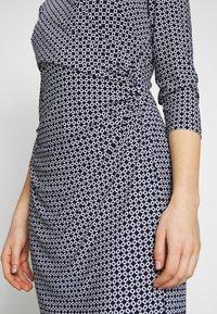Lauren Ralph Lauren - PRINTED MATTE DRESS - Denní šaty - lighthouse navy - 5