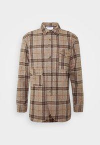 ARMY SHIRT - Shirt - brown