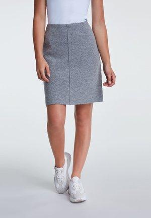 A-line skirt - gray