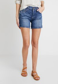 edc by Esprit - Jeans Shorts - blue dark wash - 0