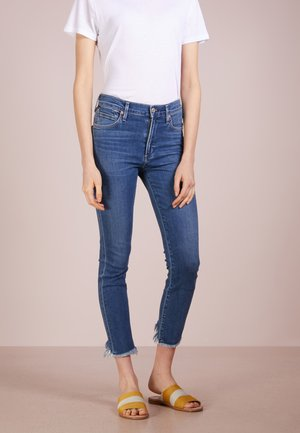 ROCKET CROPPED - Džíny Slim Fit - frequency
