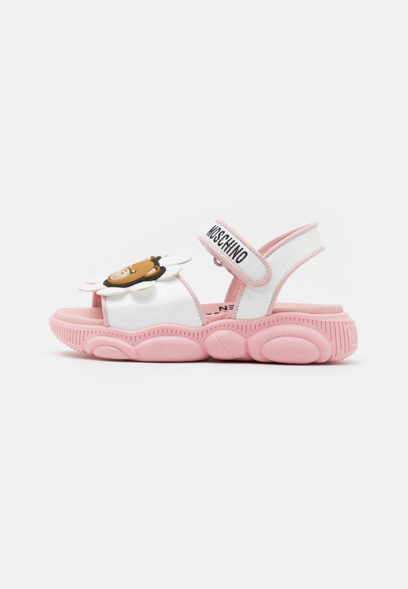 MOSCHINO - Sandals - white