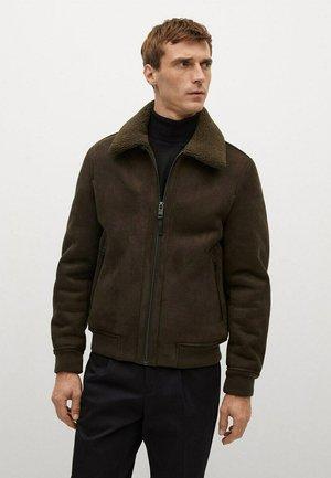 RUSSEL - Fleece jacket - kaki