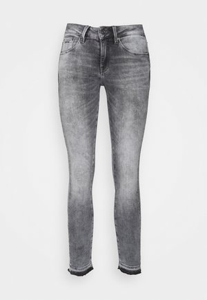 MID SKINNY ANKLE - Skinny džíny - faded seal grey