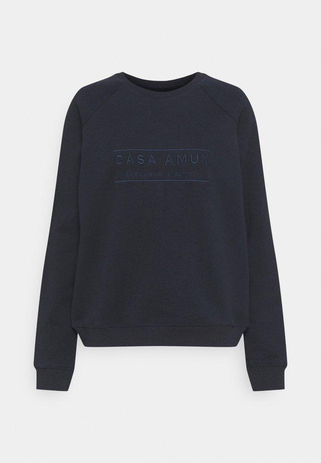 HERITAGE LOGO - Sweatshirt - navy