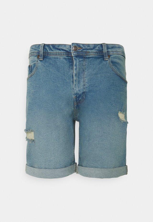 MR ORANGE - Shorts di jeans - light blue