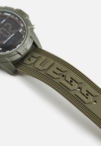 Guess - Digital watch - khaki - 2