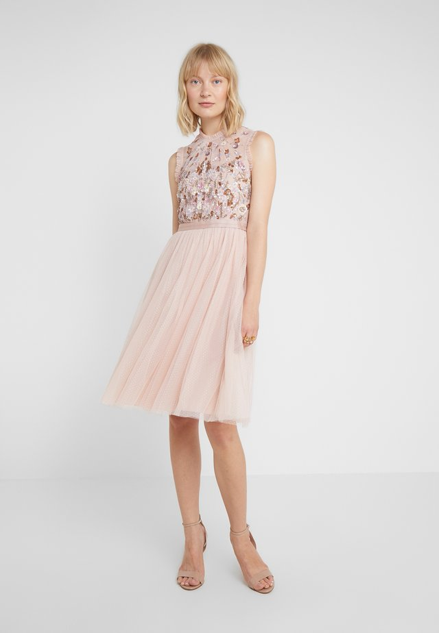 DARLING BODICE SLEEVELESS MIDI DRESS - Vestito elegante - powder pink