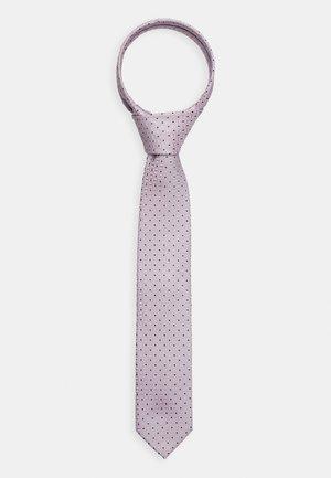 Tie - light/pastel pink