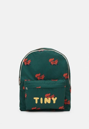 FOXES BIG BACKPACK - Rucksack - dark green/sienna