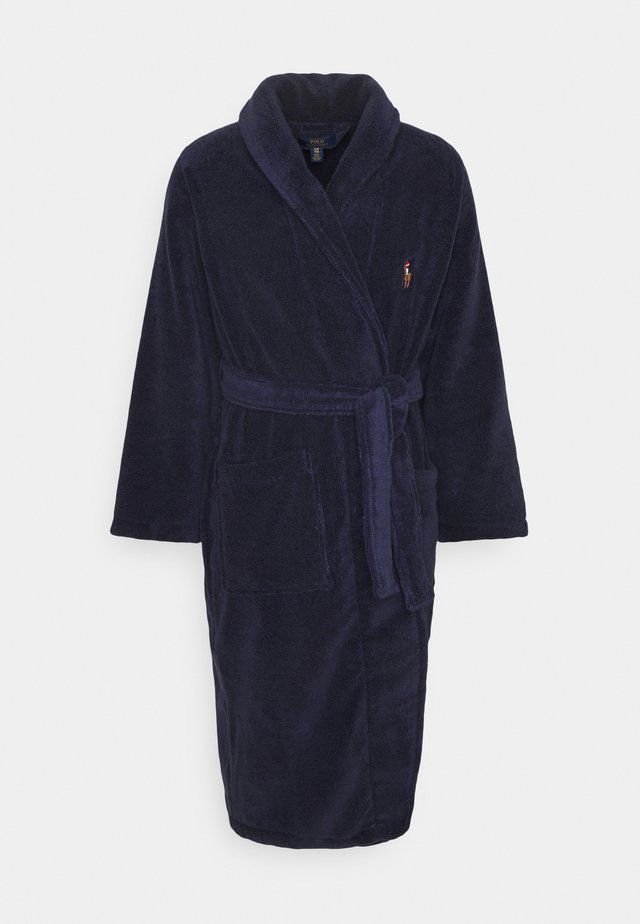 SHAWL COLLAR ROBE - Peignoir - cruise navy