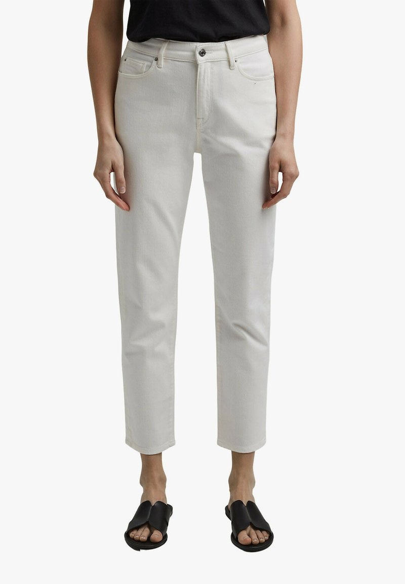 Esprit - Straight leg jeans - off white