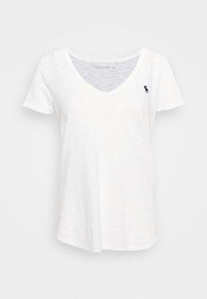 SOFT TEE - T-shirt - bas - white
