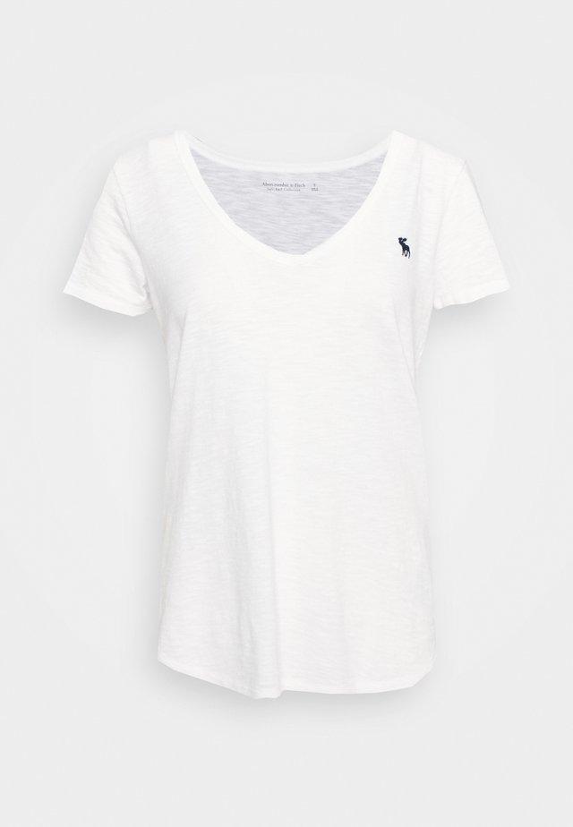 SOFT TEE - Basic T-shirt - white