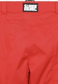 SuperRebel - SKI PANT PLAIN - Skibroek - neon red - 5