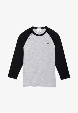 TH8071-00 - Långärmad tröja - silver chine/black