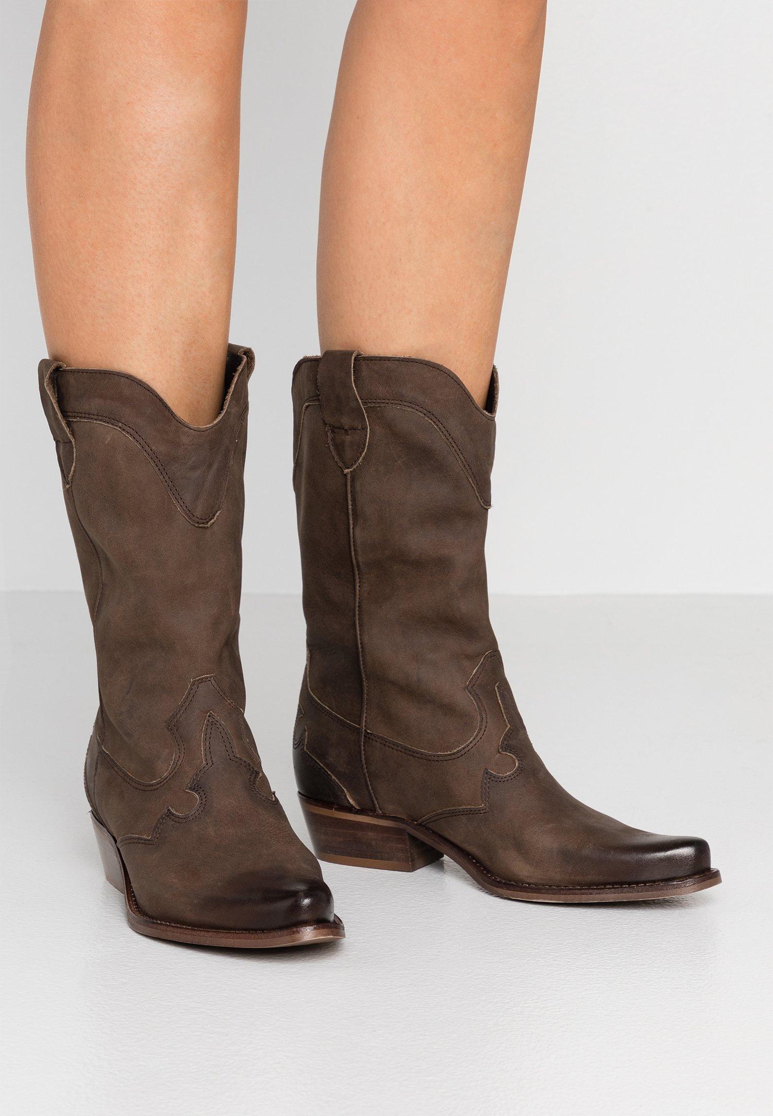 Women GERBERA - Cowboy/Biker boots - flan