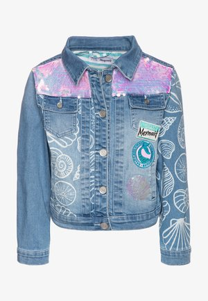 CHAQ CEREZAS - Denim jacket - jeans claro