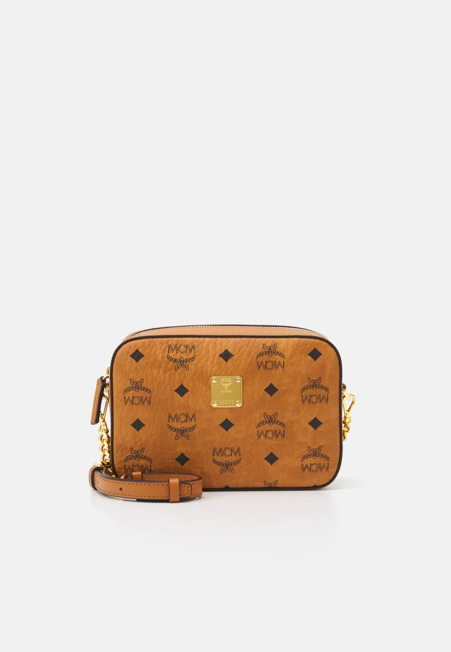 VISETOS ORIGINAL CROSSBODY MINI - Olkalaukku - cognac