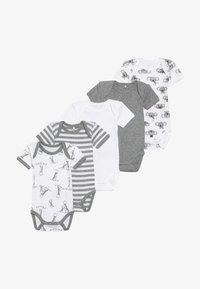Name it - NBNBODY BEAR 5 PACK - Body - grey melange - 4