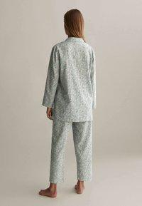 OYSHO - Pyjama bottoms - green - 2
