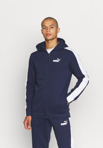HOODED SUIT - Tracksuit - peacoat