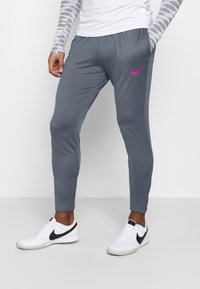 Nike Performance - FC PANT - Tracksuit bottoms - thunder blue/fireberry - 0
