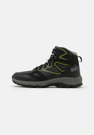 DOWNHILL TEXAPORE MID  - Hikingsko - black/lime
