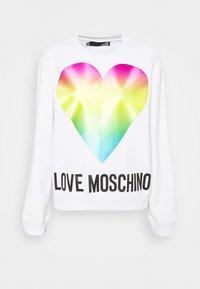 Love Moschino - Collegepaita - optical white - 4