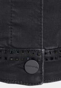 comma - LANGARM - Denim jacket - black - 2