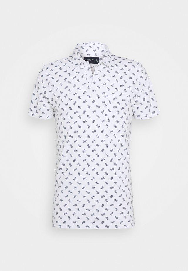 JOHNNY COLLAR  - Polo shirt - white