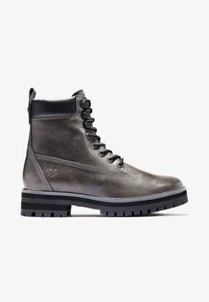 COURMA GUY BOOT WP - Snörstövletter - med grey full grain