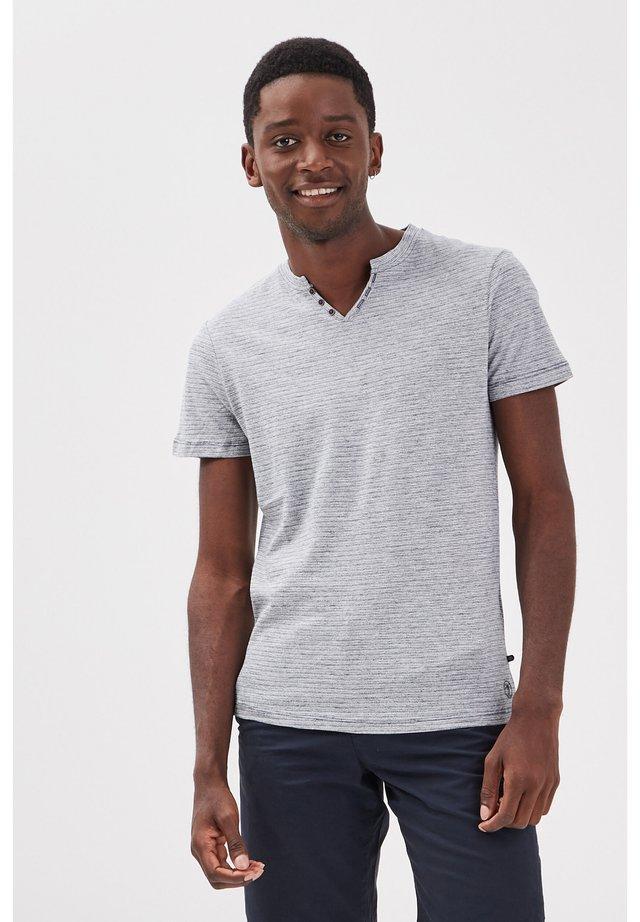 UMWELTFREUNDLICHES - T-shirt con stampa - bleu gris