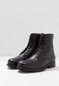 Jacamo - MILITARY BOOT - Lace-up ankle boots - black - 2