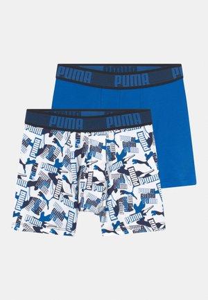 BOYS LOGO 2 PACK - Underbukse - blue