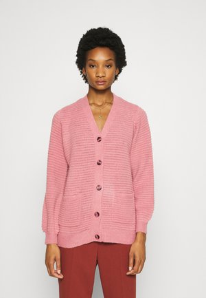 EBBA CARDIGAN - Cardigan - dusty rose