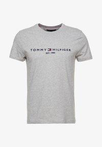 Tommy Hilfiger - LOGO TEE - Print T-shirt - grey - 4