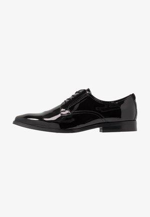 ABAUDIEN - Smart lace-ups - black