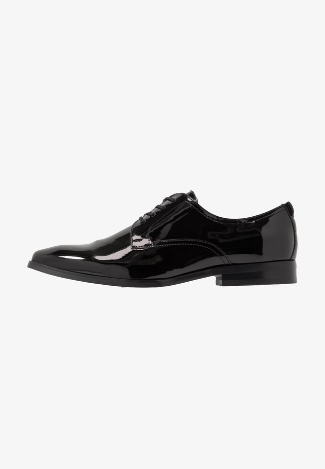 ABAUDIEN - Elegantní šněrovací boty - black