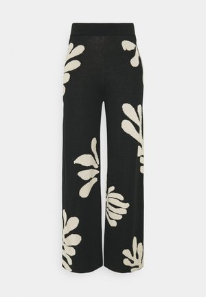 CHAOLA - Trousers - black