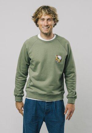 THE HIKER - Sweatshirt - green