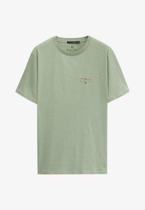 T-shirt print - evergreen