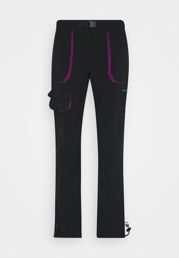 POWDER KEGSTRETCH CARGO - Outdoorové kalhoty - black/plum