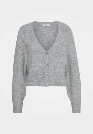 TILLY CARDIGAN - Cardigan - grey melange